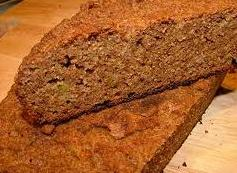 Acorn bread - bread made from acorn flour in place of wheat flour