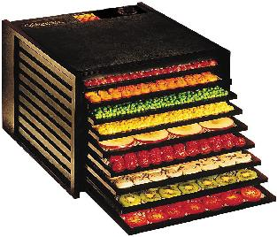 Food dehydrator - for preservation of fruits, vegetables, and meat
