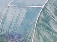 Polytunnel polythene covers