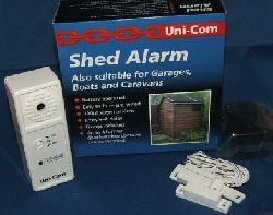 Shed alarm security system